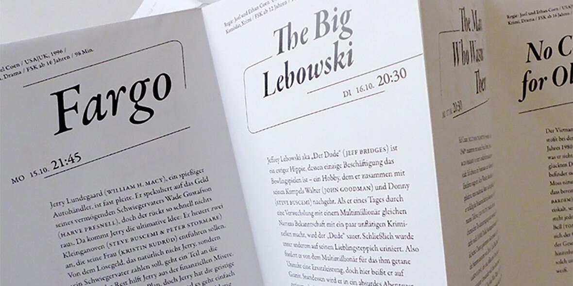 Bild mit Typografie