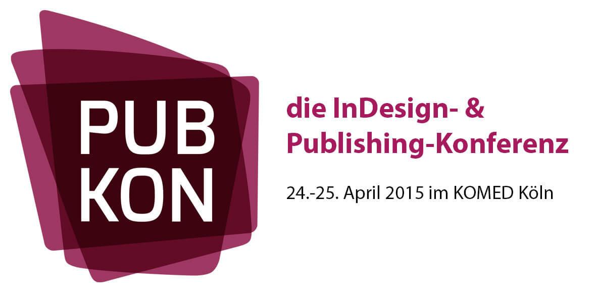 Banner PUBKON15 in Köln