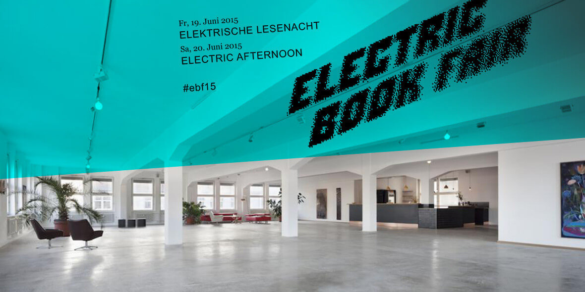 Werbebanner Electric Baok Fait 2015, Colonia Nova Berlin