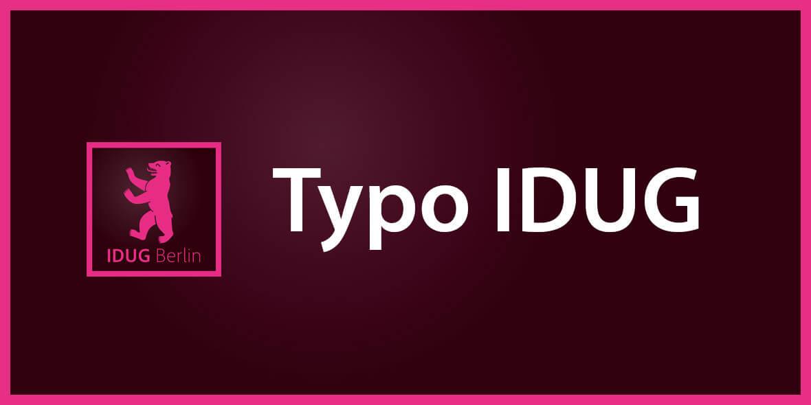 Teaser Typo IDUG 2014