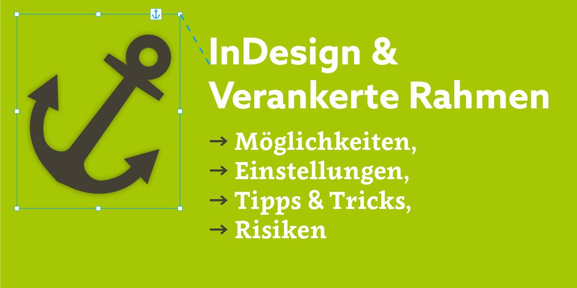 Titelbild: Verankerte Rahmen in InDesign
