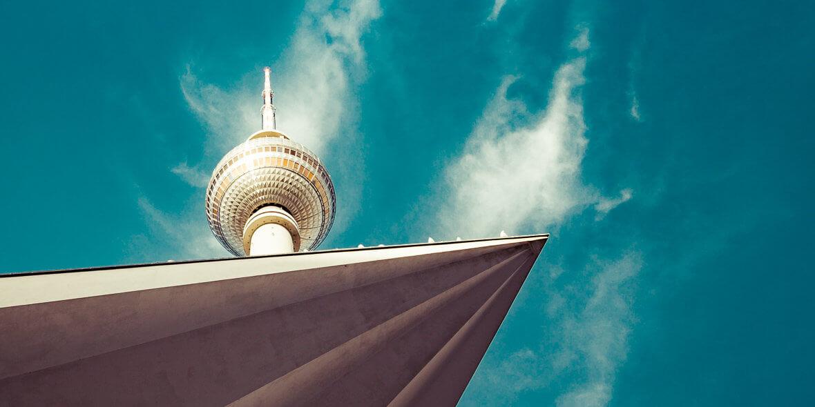 Berliner Fernsehturm, Froschperspektive