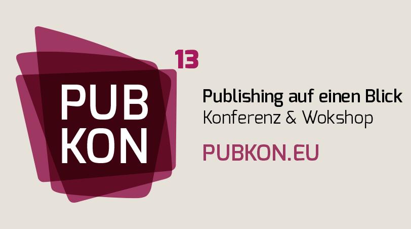 PUBKON13 – Publishing-Konferenz Banner